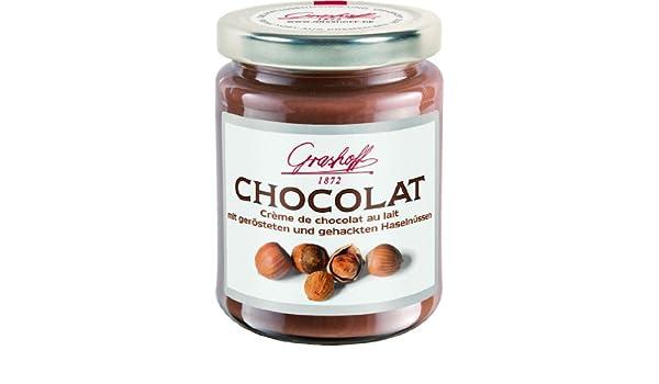 Grashoff - Crema de chocolate con leche y avellanas: Amazon.es: Alimentación y bebidas