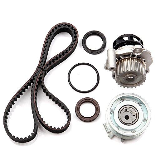 OCPTY Timing Belt Kit Including Timing Belt Water Pump with Gasket tensioner Bearing etc, Compatible for 98 99 00 01 02 03 04 05 Volkswagen Beetle/98 99 00 01 02 ()