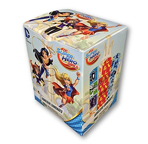 [DC Super Hero Girls 100 Bandages] (Girl Superhero)