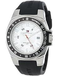 Tommy Hilfiger Mens 1790485 Black Rubber Strap Watch