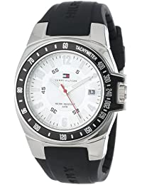 Mens 1790485 Black Rubber Strap Watch
