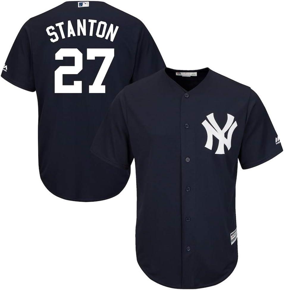 Joueur Baseball Jersey Ligue majeure de Baseball # 27 Stanton New York Yankees