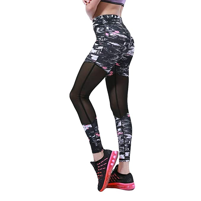 Btruely Leggings Deporte Mujer Fitness, Leggins para Damas ...