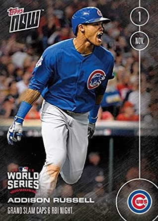 Amazoncom 2016 Topps Now 651 Addison Russell Baseball Card