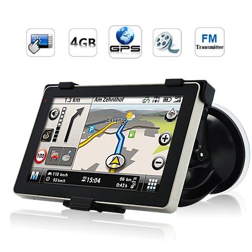 Generic Cyber - 5-Inch Touchscreen GPS Navigator (AllasV 600MHz CPU, 4G, FM Transmitter) ()