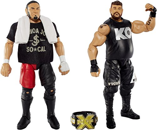 [Action Figure Elite Samoa Joe Action Figure Vs Elite Kevin Owens Figure] (Hawkeye Avengers Deluxe Adult Costumes)