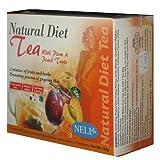 Neli Natural Diet Tea Plum and Peach Taste Tea Bags, 80-count