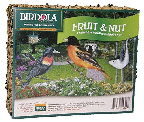 Birdola 54329 2-Pound Fruit and Nut Seed Cake