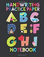 Handwriting Practice Paper Notebook: Dotted Lined
