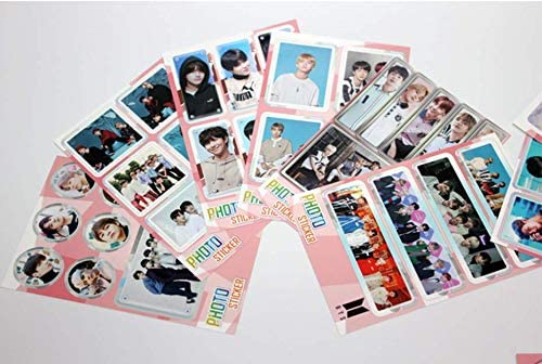 ver.4 Others with Extra Decorative Sticker Set Photocard Set CD,Photobook Folded Poster BTS Map of The Soul : 7 -