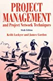 img - for Project Management and Project Network Techniques by Keith Lockyer (1996-01-08) book / textbook / text book