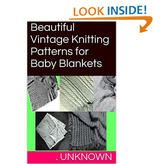 Knitted Baby Blanket Pattern Amazon