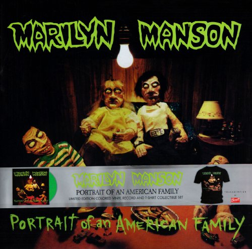 Portrait of a american Family + tshirt size L