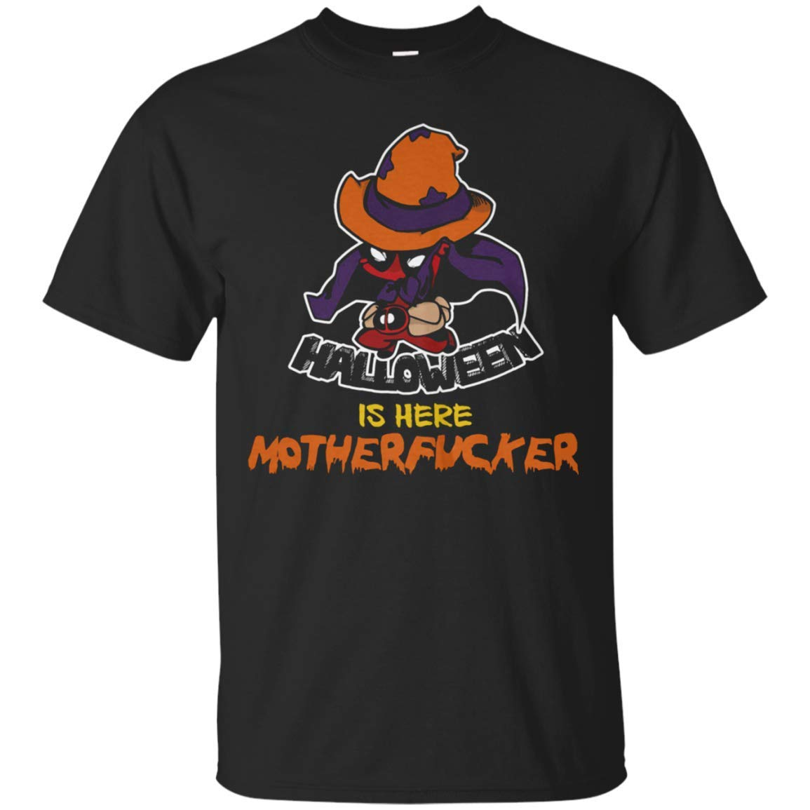 Busas Hug In A Cup Halloween Is Here Motherfucker T Shirt Tula Store S 5 3599