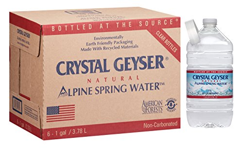 Cgw12514dep   Crystal Geyser Water Co Alpine Spring Water