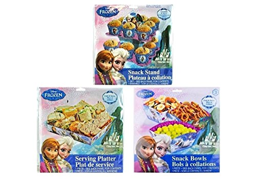 Disney Frozen Party Serving Bowls Set 3ct by Party Supplies