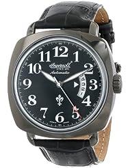 Ingersoll Mens IN1002BBK Black Jack Analog Display Automatic Self Wind Black Watch
