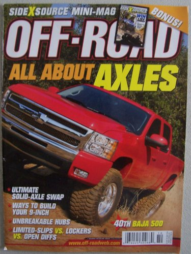 Off-Road, October 2008, Volume 42, Number 10, single issue magazine (All About -