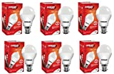 Eveready Base B22 7-Watt LED Bulb (Pack of 6, Cool Day White Light)