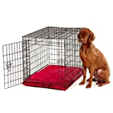 Bowsers Platinum Series All Weather Dog Crate Bed Color-Size – Large – 42L x 28W x 2H in. – Oak, My Pet Supplies