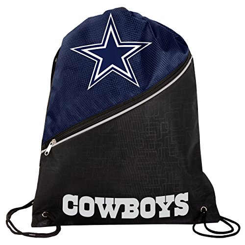 Dallas Cowboys High End Zipper Drawstring Backpack