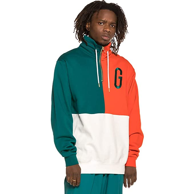 Grimey Sudadera Midnight G Logo High Neck Sweatshirt SS19 Green: Amazon.es: Ropa y accesorios