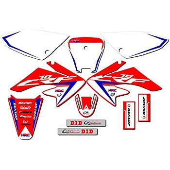 Compatible with Honda CRF70 CRF80 SSR Sticker Sets Atomik Plastic Sticker Kits Decal Graphic