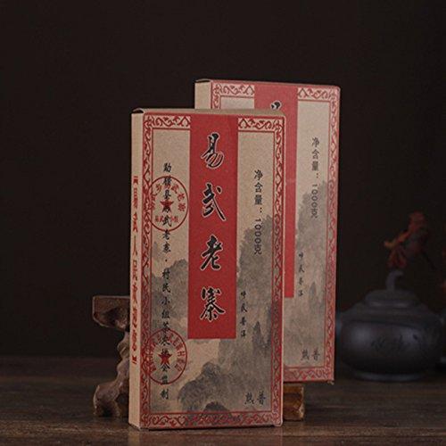 Aseus Yunnan Pu'er Tea tea cooked brick 08 years old Chen Yi Wu ancient brick tea 1000 grams gift box by Aseus-Ltd