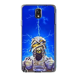 Samsung Galaxy Note3 MWB12894Ffqd Support Personal Customs Beautiful Iron Maiden Band Image Shock-Absorbing Cell-phone Hard Covers -LauraAdamicska