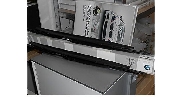 Original BMW Limpiaparabrisas de Hoja Plana 3 E46 Evo 61610037009: Amazon.es: Coche y moto