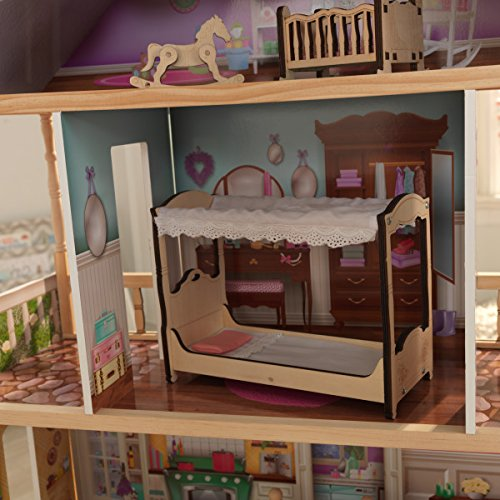 51OHJMC6ByL - KidKraft So Chic Dollhouse with Furniture