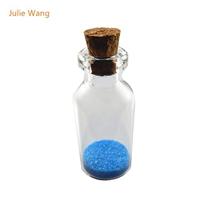 eda1b5c6f862 Amazon.com: Necklace Bottle Empty Wedding Message in A Bottle 30pcs ...