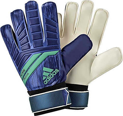 adidas Performance ACE Training Goalie Gloves, Medium Blue, Size 5