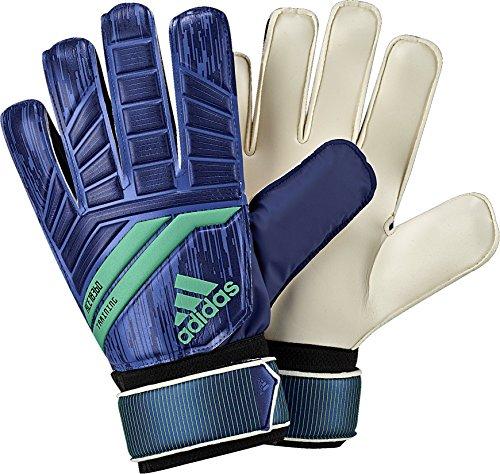 adidas ACE Training Goalie Gloves, Medium Blue, Size 5