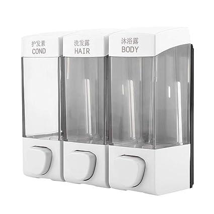 Fdit Socialme-EU Dispensador de jabón 1050ML Dispensador de Gel de Champú para Líquido en