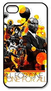 TYH - icasepersonalized Personalized Protective Case for iPhone 6 4.7 - NBA Cleveland Cavaliers, ALL FOR ONE, ONE FOR ALL ending phone case