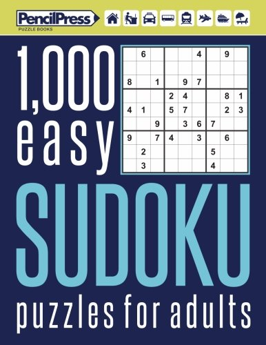 - 1000 easy Sudoku puzzles book for adults: Puzzle book for adults easy 1,000+ by