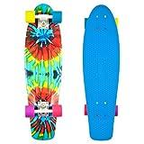 Penny Graphic Complete Skateboard, Tie Dye, 22-Inch