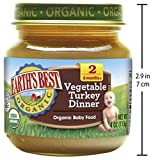 Earth's Best Organic Stage 2 Baby Food, Vegetable