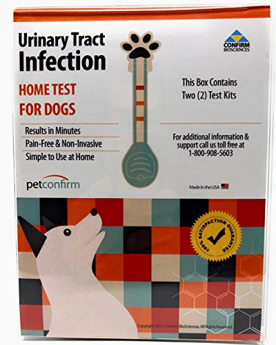 PetConfirm Dog Urinary Tract Infection Test for Dogs (2 Tests)