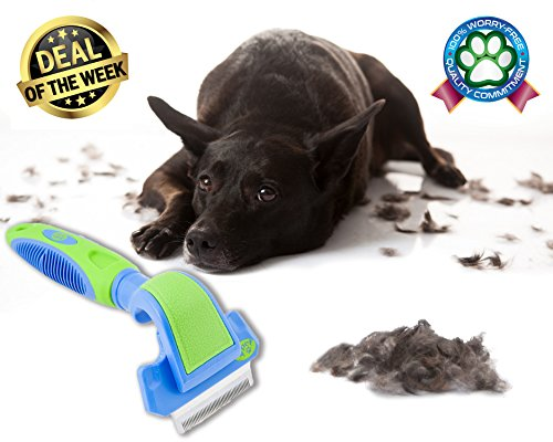 [2PET FWIPER– Deshedding Dog Brush for Small, Medium & Large Sized Dogs, Cats & Other Pets – Reduces Undercoat Shedding by 95% - Designed to Groom Medium to Short Hair. Small 2 inches Happy] (Price Is Right Costume)