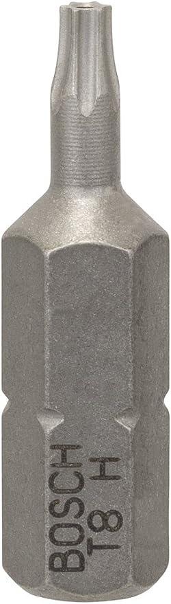 extra dura Pack de 2 puntas de atornillar T7H Security Torx T7H, 25 mm Bosch 2 608 522 006