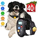Dog Training Collar Shock Collar for Dogs, Shock Dog Training Collar with Remote 100% Waterproof Barking Collar with Beep Vibration Shock E-collar Dog Training Collar for Small Medium Large Dogs For Sale