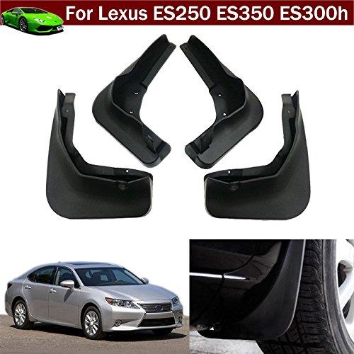 Tiantian New 4pcs Mud Flap Splash Guard Fender Mudguard Mudflap for Lexus ES250 ES350 ES300h 2013 2014 2015 2016 2017 2018