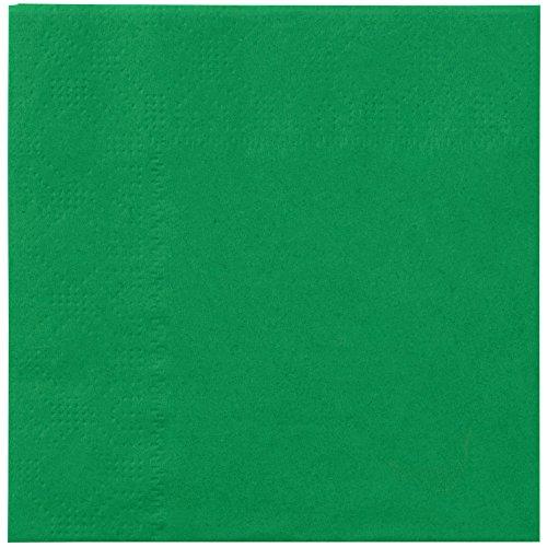 (Hoffmaster 180329 Jade Green Beverage / Cocktail Napkin - 1000/Case )