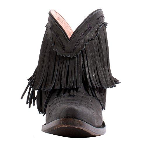 Lane Womens Junk Gypsy by Spitfire Boot Snip Toe - Jg0007b Black ae2OaT3tww