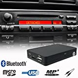 Bluetooth Handsfree A2DP USB SD AUX MP3 WMA Player CD Changer Adapter Interface Car Kit BMW E36 E38 E39 E46 Z3 Business CD Cassette Radio
