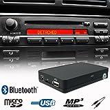 Bluetooth Handsfree A2DP USB SD AUX MP3 WMA Player CD Changer Adapter Interface Car Kit BMW E36 E38 E39 E46 Z3 Business CD Cassette Radio