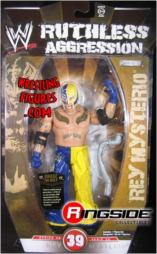 WWE Wrestling Ruthless Aggression Series 39 Action Figure Rey Mysterio (Rey Mysterio Wwe)