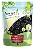 Pitted Prunes, 8 Ounces — Whole Dried Plums, Unsulfured, Unsweetened, Non-Infused, Non-Oil Added, Non-Irradiated, Pesticide-Free, Vegan, Raw, Bulk